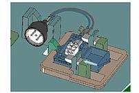 工业机器人自动打螺丝