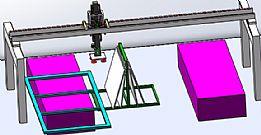 机器自动化装配玻璃案例