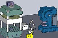 工业机器人物料自动配送