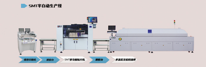 煌牌中小型SMT生产线设备选型依据