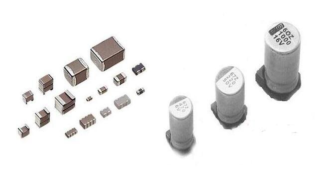 """(2)看标志——贴片电容在电路中的符号为""""c"""",贴片电阻的符号为""""r""""."""